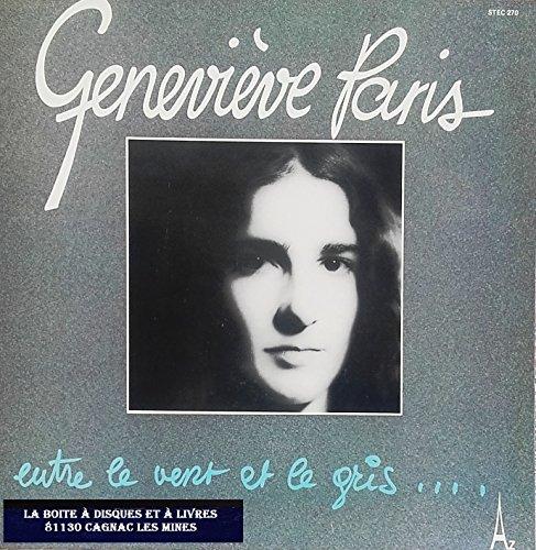 Paris Genevieve, Entre le vent et le gris, STEC 270, 33T, Québec, C201
