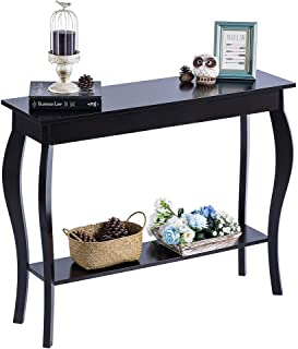 ChooChoo Console Sofa Table with Drawer, Entryway Hall Table, Accent Table Easy Assembly