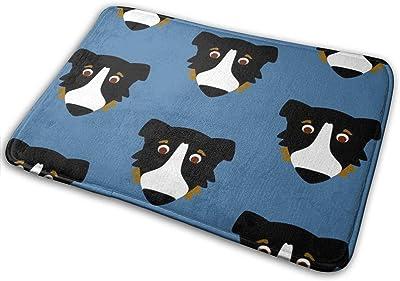 """Aussie Dog Repeat_24089 Doormat Entrance Mat Floor Mat Rug Indoor/Outdoor/Front Door/Bathroom Mats Rubber Non Slip 23.6"""" X 15.8"""""""