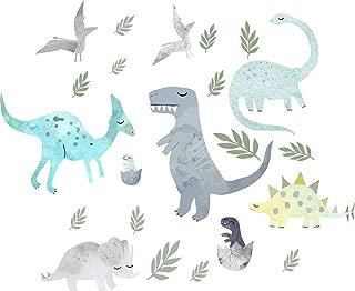 Easma Dinosaur Wall Decals Dinosaur Wall Decor Dinosaur Decor Dinosaur Sticker, Fabric Wall Decal Dinosaur Nursery Decor