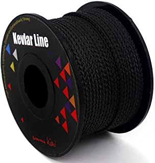 emma kites 100% Braided Kevlar Line String Tensile Option High Strength for Outdoor Activities Tactical Survival General P...