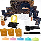 AYASAL Luxury Lash Lift Kit Eyelash Perm Kit, Salon-quality, But 10 Uses, Complete At-Home Eyelash Curling Kit, Lasting Over One month, Gentle Perm Lash Formula, Individual Packages for 10 Uses.