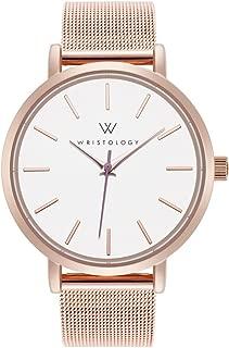 WRISTOLOGY Olivia - 2 Options - Womens Lines Rose Gold Watch
