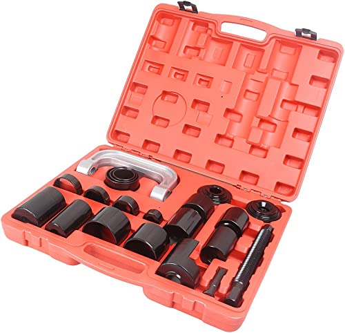 new arrival Mallofusa Universal discount 21Pcs online sale Ball Joint Repair Service Removal Tool Kit Remover Installer Master Adapter Set outlet sale
