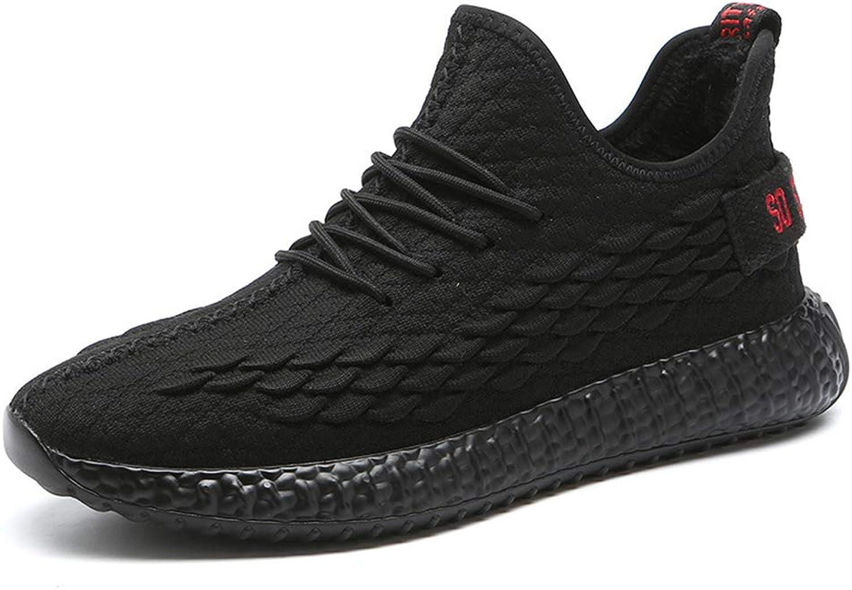 YSNJL Mens Walking Tennis shoes Blade Slip on Casual Fashion Sneakers
