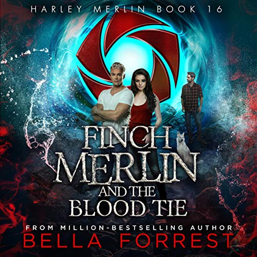 Finch Merlin and the Blood Tie audiobook cover art