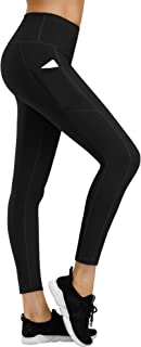 Yoga Pants with Pockets for Women, High Waist Tummy Control Workout Leggings