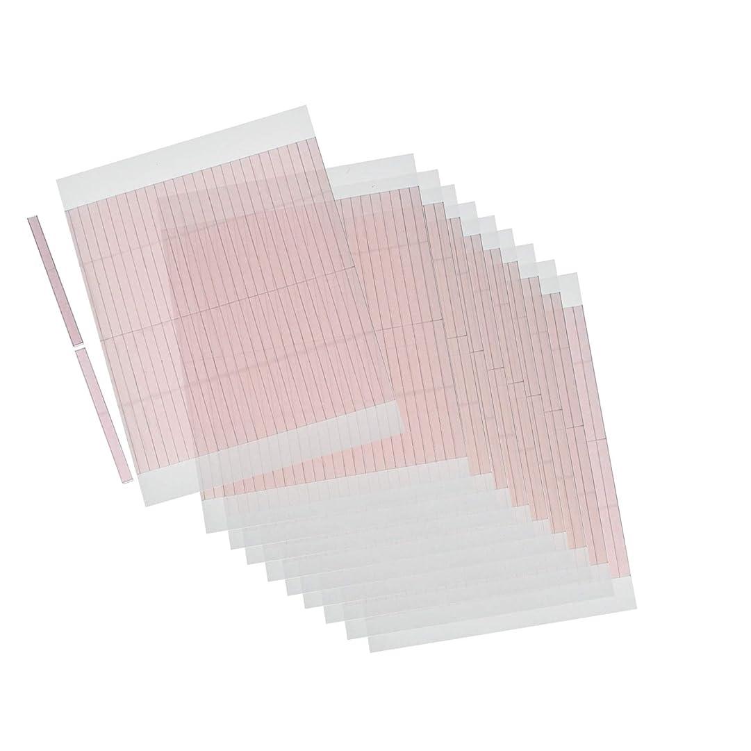 メトリック輝度毎月m.tivance アイテープ 二重瞼形成 二重テープ 10シートセット 520本入り/アイテープ10枚セット