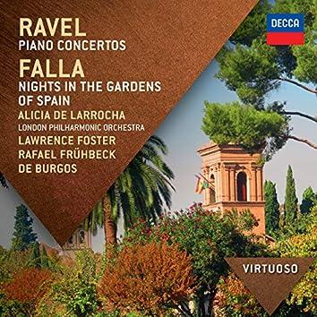 Ravel:  Piano Concertos; Falla: Nights In The Gardens Of Spain