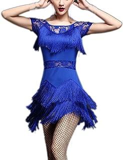 Whitewed Short Sleeve 1920's Latin Salsa Jazz Gatsby Tango Competition Dancewear