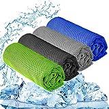 "Best Cooling Towels - YQXCC Cooling Towel 3 Pcs (47""x12"") Microfiber Towel Review"