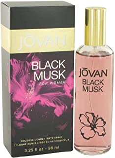 Jovan Black Musk EDC Spray for Women,94.63ml