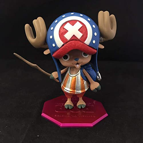 SHWSM Toy Statue Toy Statue Toy Modell Cartoon Character Geschenk Set   4 Satz (Farbe   A)