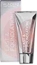 WUNDER2 LAST & FOUNDATION 24+ Hour Flawless Full Coverage Liquid Foundation Makeup