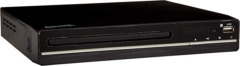SuperSonic - 2.0 Channel DVD Player with HDMI Output and USB/SD Inputs, DVD Players - Black (SC-20H)
