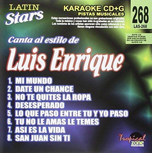 Karaoke: Luis Enrique - Latin Stars Karaoke by Karaoke:Luis Enrique-Latin Sta