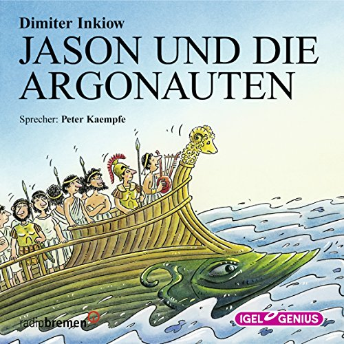 Jason und die Argonauten audiobook cover art