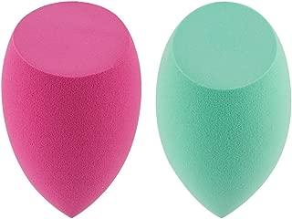 amoore Makeup Sponge Latext-free Beauty Sponge Makeup Blender Foundation Sponge Applicator Sponges (2 Pcs)