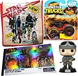 Hot Wheels Monster Vader Star Wars Vader Truck Bundled with Retro Iconic Toy Ad Characters Tote Bag ...