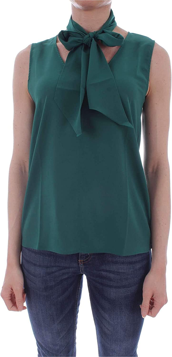 Emme Marella Women's 51610795GREEN Green Polyester Top