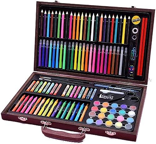 Más asequible Art Set para Niños Suministros de arte para dibujar dibujar dibujar pintura y más en un estuche portátil compacto hace que el juego de bolígrafos Regalos para Niños ( Color   Natural , Talla   Free Talla )  toma