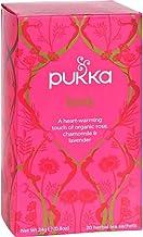 Pukka Organic Love Herbal Tea - 20 bags per pack - 6 packs per case.