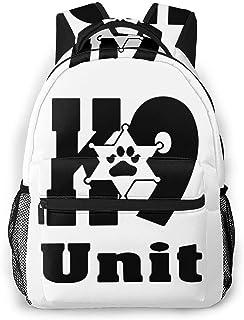 Police K-9 Unit Boys Girls School Computer Backpacks Book Bag Travel Hiking Camping Daypack