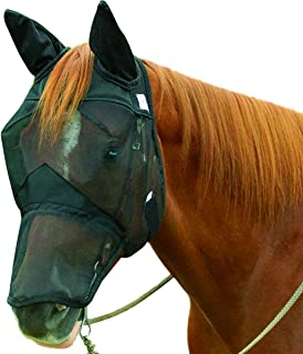 Cashel Quiet Ride Horse Fly Mask, Long Nose with Ears