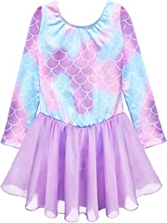 Girls Gymnastics Skirted Leotards Ballet Tutu Dance Dress Mermaid Unicorn Gymnastic Skirt(Baby Girls/Toddler Girls/Big Girls)