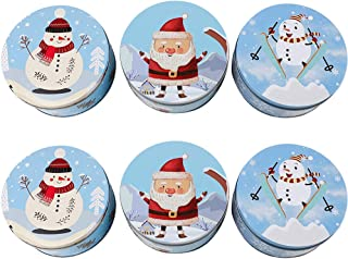 christmas tin cans for cookies