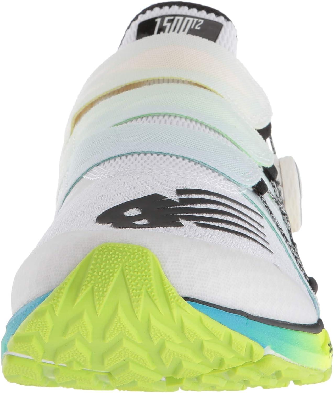 New Balance Men 1500v4 BOA Running Shoes, White, 14.5 (50 EU ...