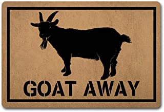 goat kitchen rug