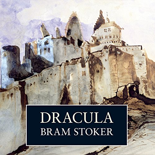 Dracula  audiobook cover art