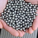 Weesey 100 STÜCKE 6 MM Kohlenstoffstahl Bälle für Jagd Slingshot-katapult Munition Ersatz Fahrradlager