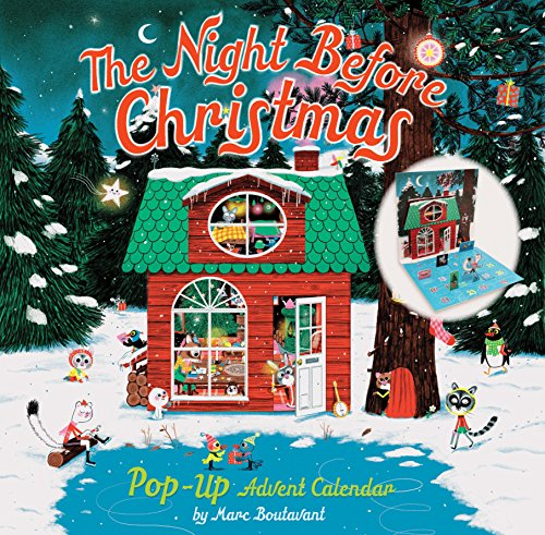 Boutavant, M: Night Before Christmas Pop-Up Advent Calendar
