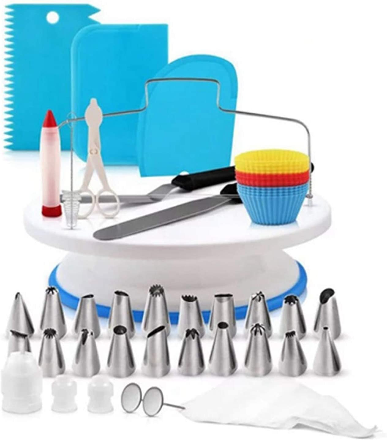 Cake San Diego Mall Decorations Baking Accessories Max 47% OFF Turntable Kitchen U Set