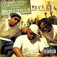 Lil Scrappy Music Album Neva Eva/Head Bussa(2010)カバーポスター壁アートキャンバスプリント絵画リビングルーム家の装飾-24x24インチフレームなし(60x60cm)