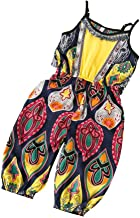 MOSSUO Toddler Girl Clothes African Dashiki Print Jumpsuits Baby Girl Outfits Sleeveless Romper Overalls