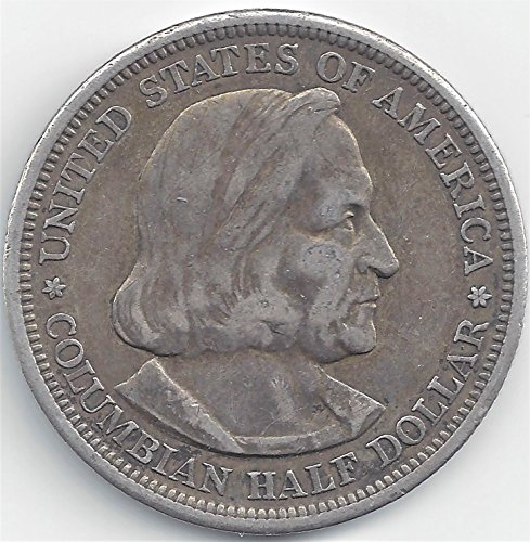 1893 Columbian Exposition 90% Silver Commemorative Half Dollar Various Grades