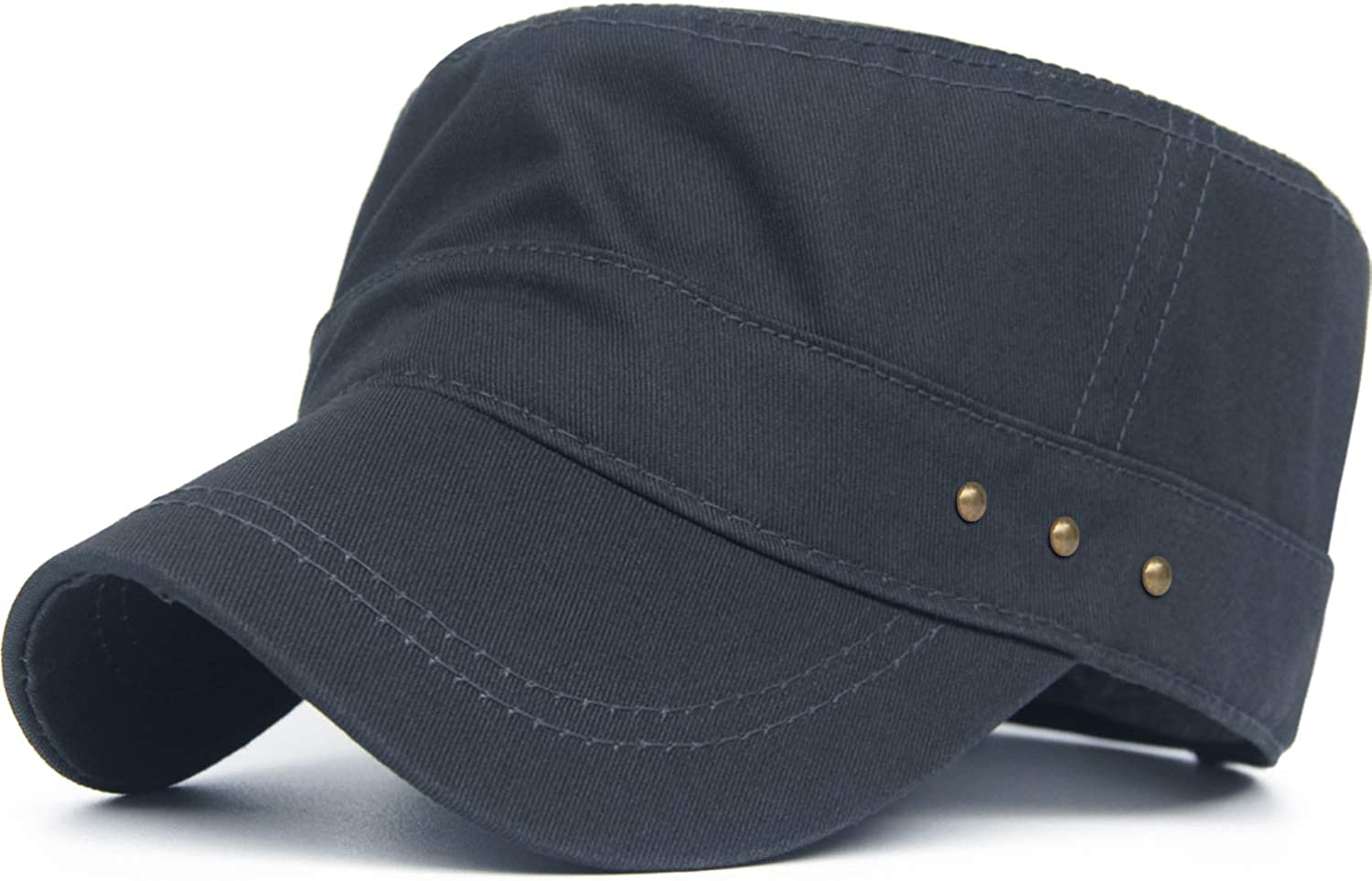 Rayna Fashion Cotton Max 74% OFF Cadet Cap Army Flat Caps Hats Uniq Now free shipping Military