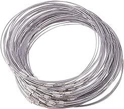 Danigrefinb Collier en m/étal /à maillons ouverts 5 m 3 x 4 mm 4x3 Mm Silver