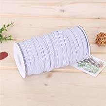 Quarter 1/4 inch Elastic for Sewing White 80 Yards