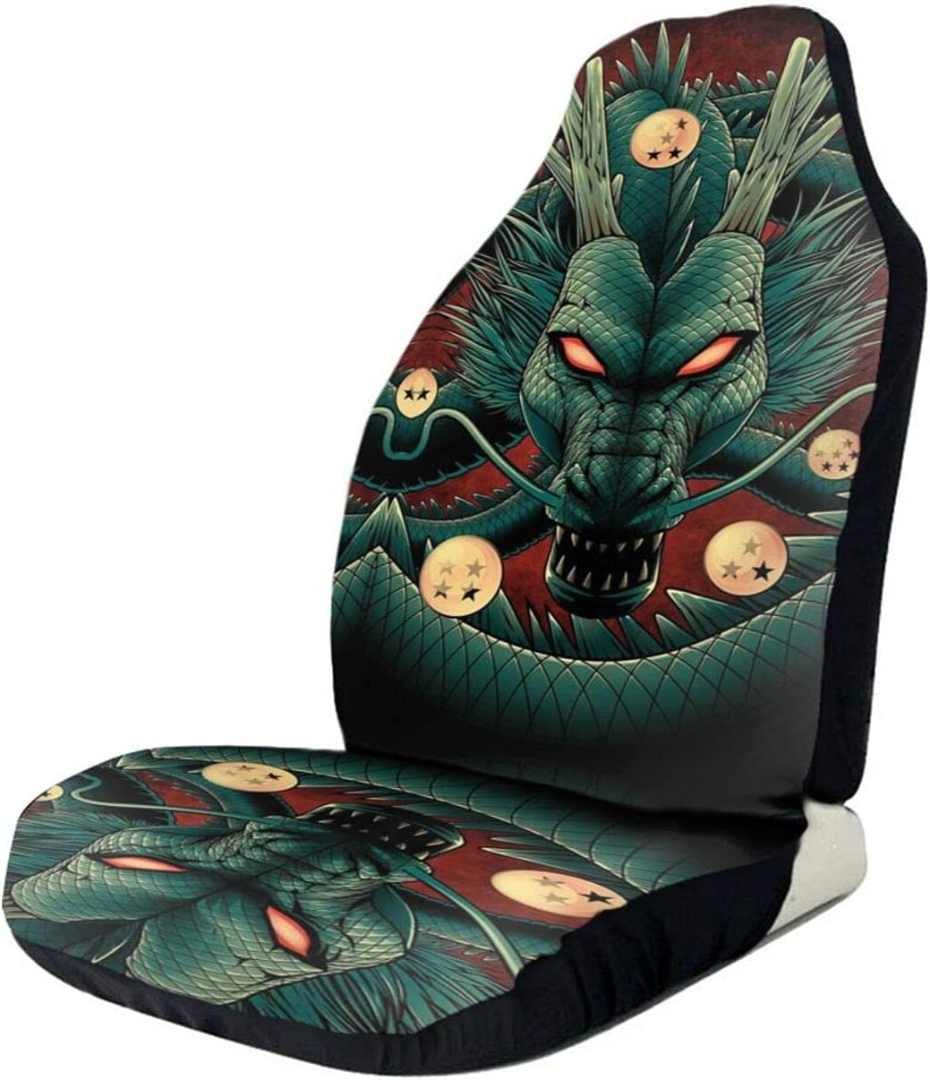 Dragon Cool Ball Super Car Seat Covers Vehicle Pr Set Front Brand new New color