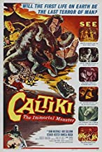 Caltiki the Immortal Monster (Z) POSTER (11