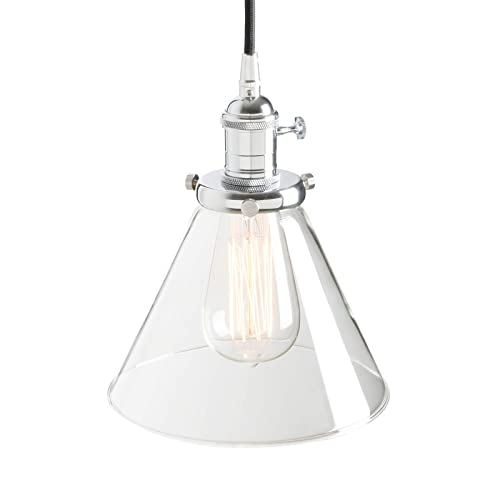 Hanging Clear Lamp Shades Amazon Co Uk