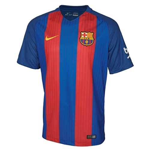Blue, Red X-Large Nike Barcelona 2016//2017 Home Soccer Jersey