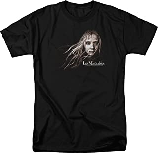 LES miserables Movie Cosette Face Blowing Hair Licensed T-Shirt All Sizes