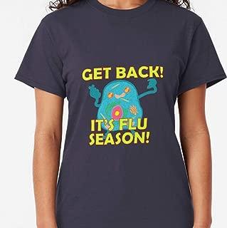 HI-DESTEE - Funny Flu Season Germ Classic - Vintage Nurse Shirt - Nurse Friends T Shirt - Nurse Gifts For Women