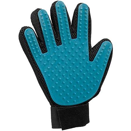 Fussel-Handschuh beidseitig rot