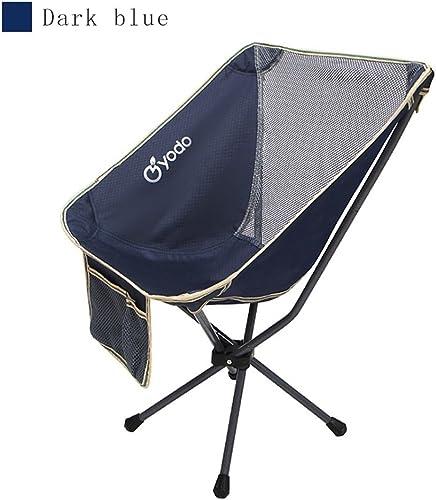 Décontracté Extérieur Stockage portable Chaise Pliante Mini Dossier Pêche Chaise de Lune Croquis de réalisateurs Sac à Dos Chaise Pliante